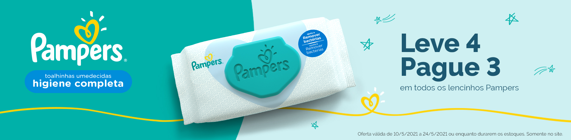 Toalha Pampers