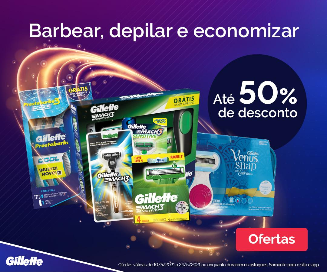 Gillette - Barbear