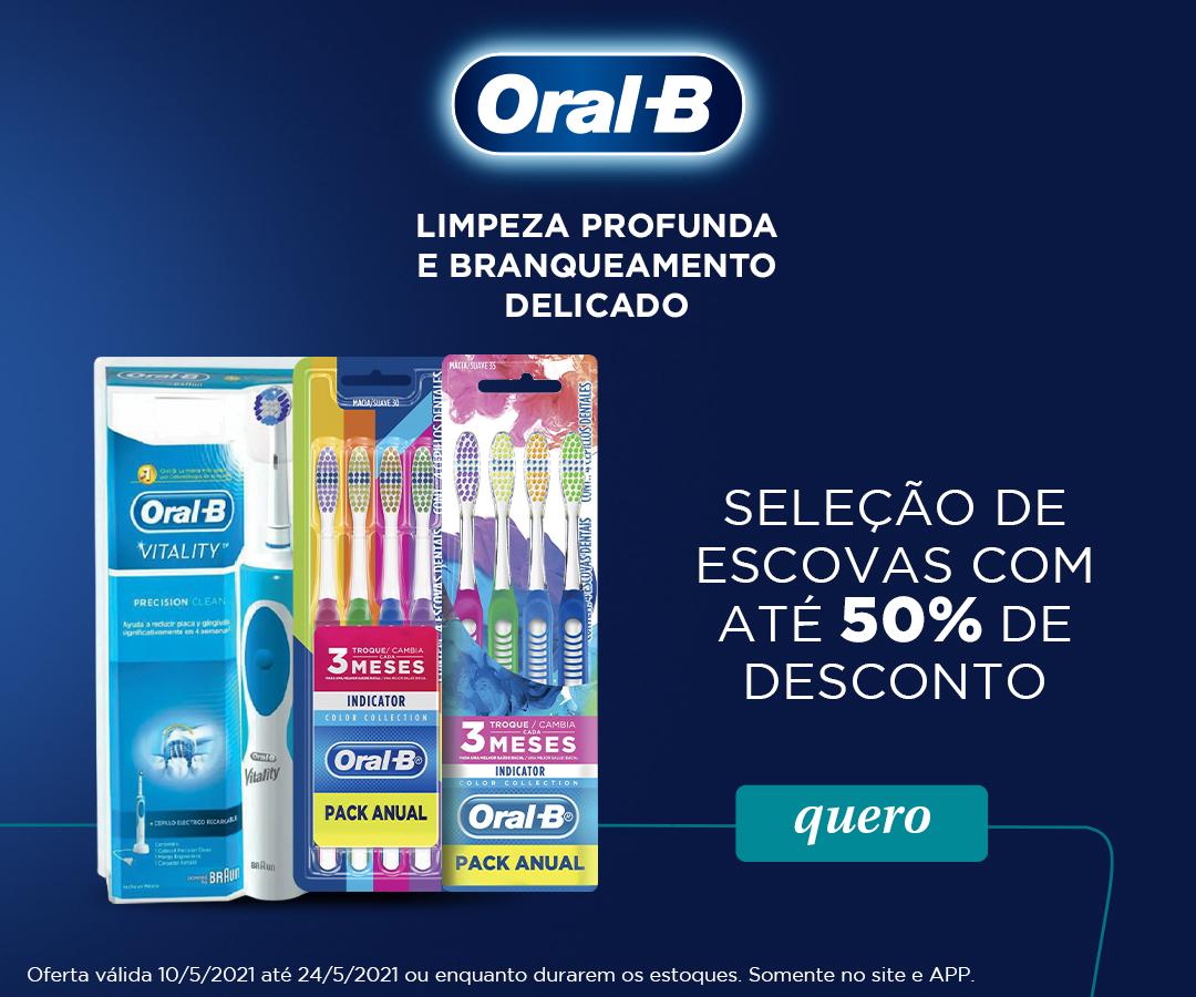 Escovas Oral B