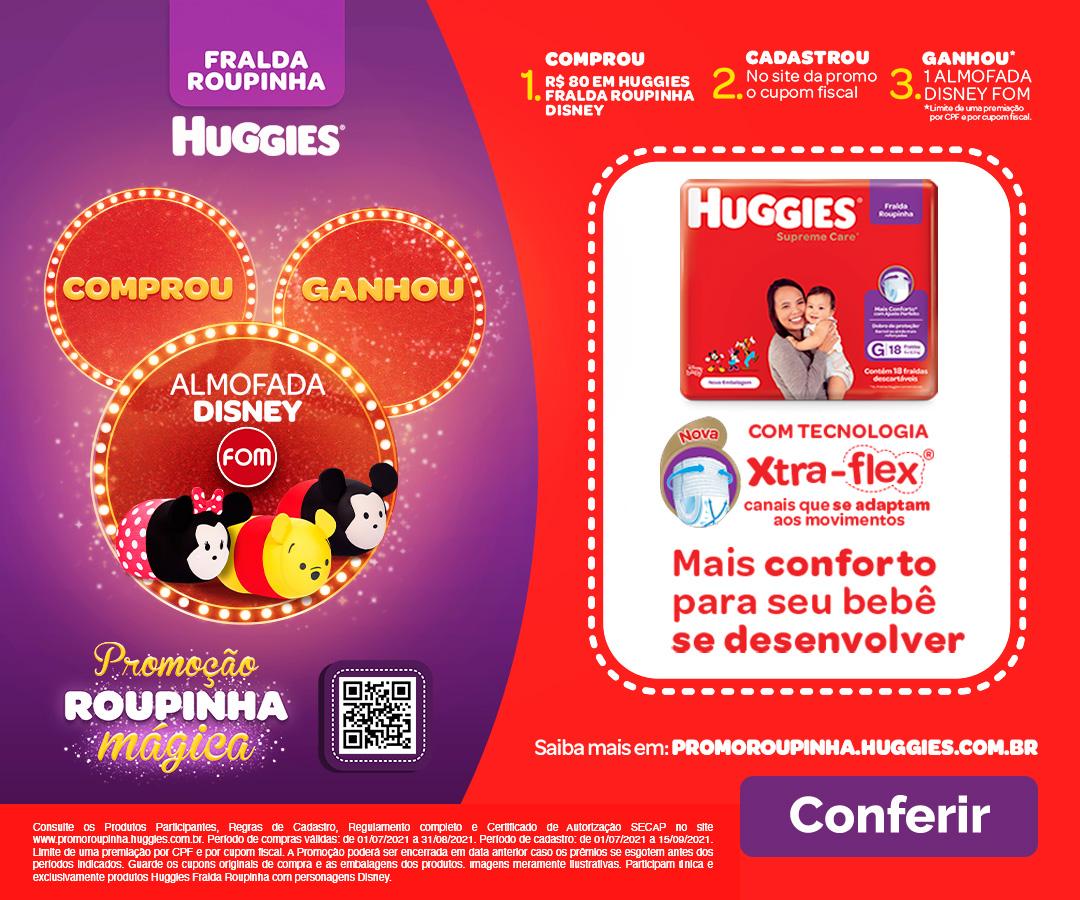 Huggies - Roupinha Mágica