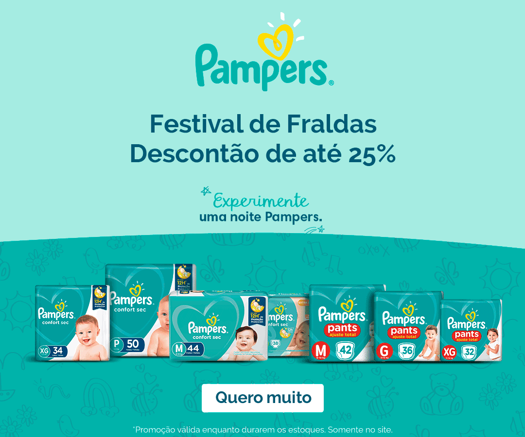 Festival Fraldas Pampers